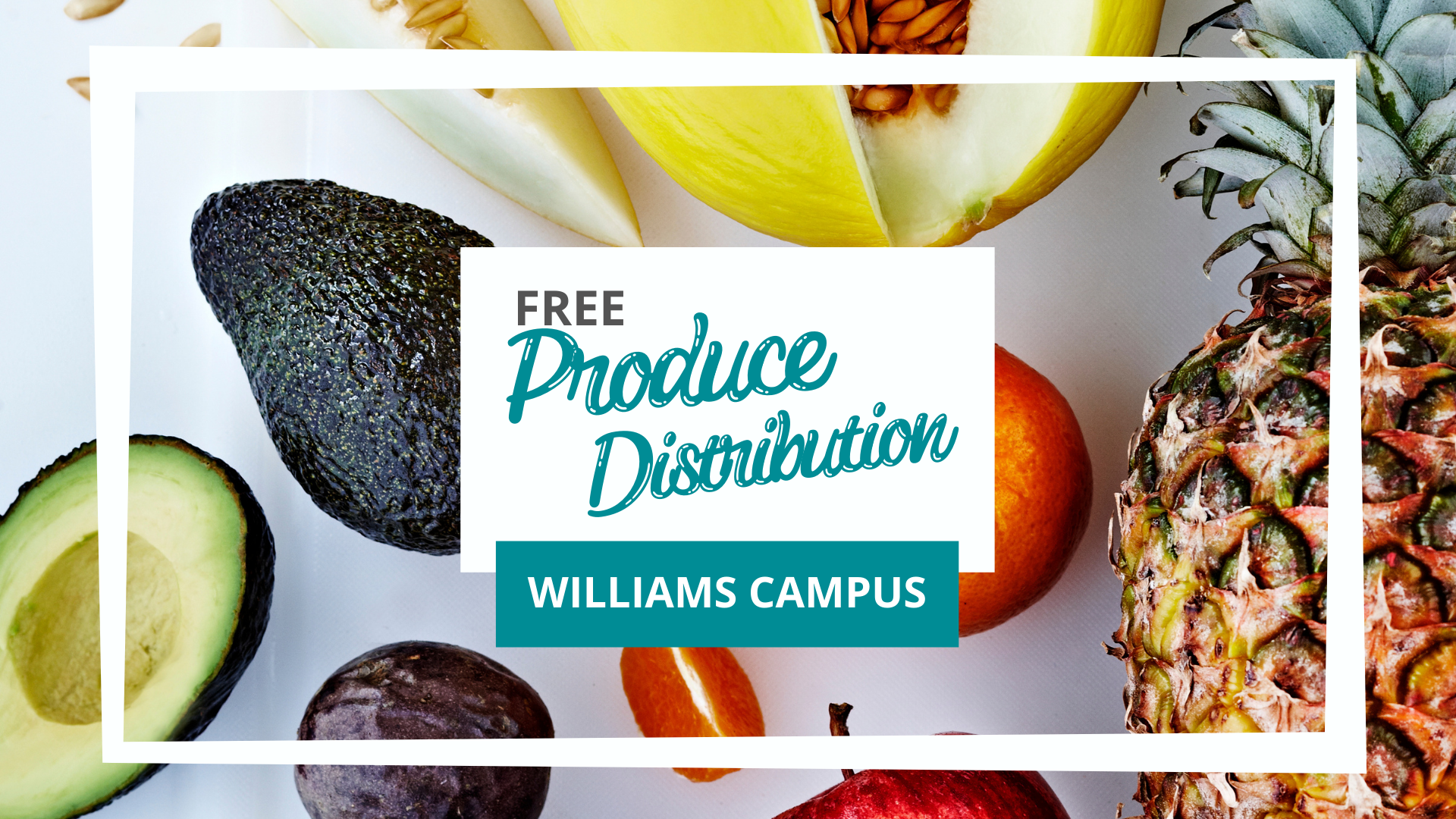 Williams Campus Free Distribution Produce