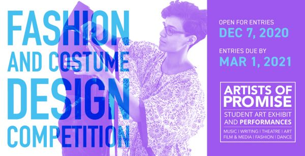 Artists of Promise - Fashion and Costume Design Competition