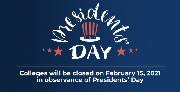 Presidents' Day (Campus Closed)
