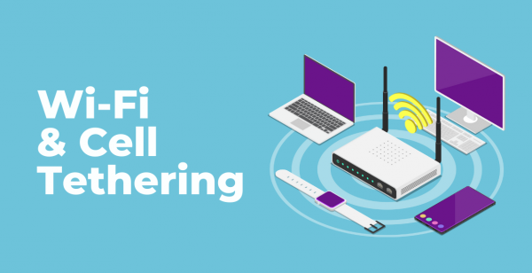 wifi, cellphone, tethering, online