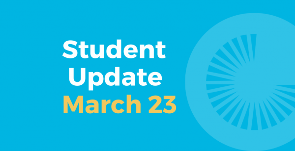 Student Update March 23